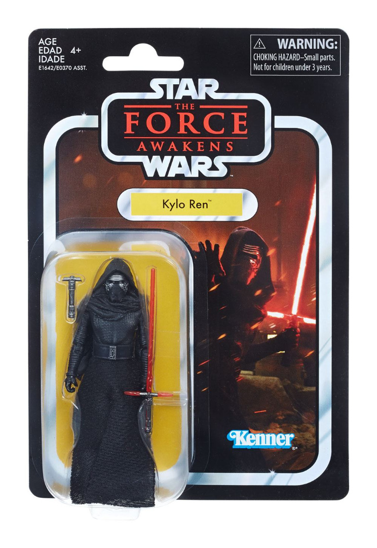 Star Wars Black Series Vintage Action Figure Kylo Ren (Episode VII) 10 cm