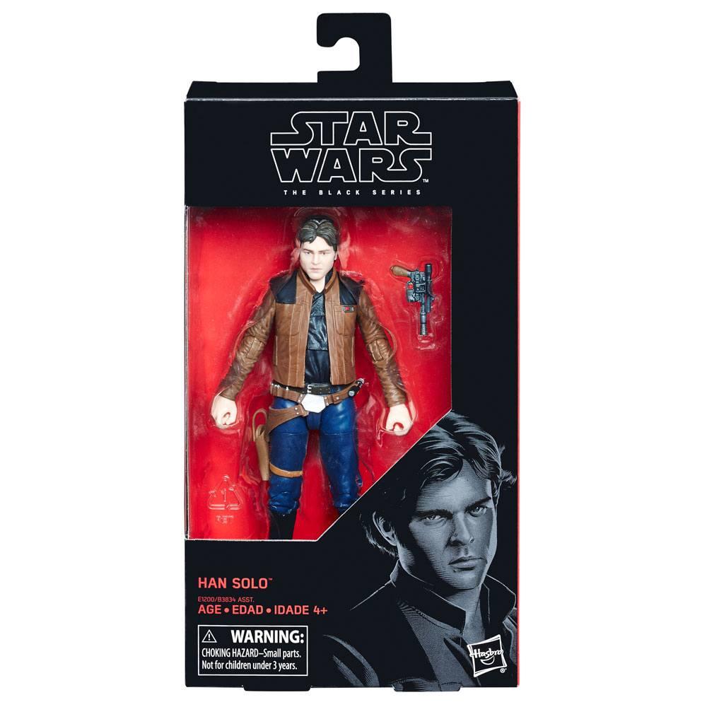 Star Wars Black Series Action Figures  Wave 2 2018 Han Solo (Solo) 15 cm