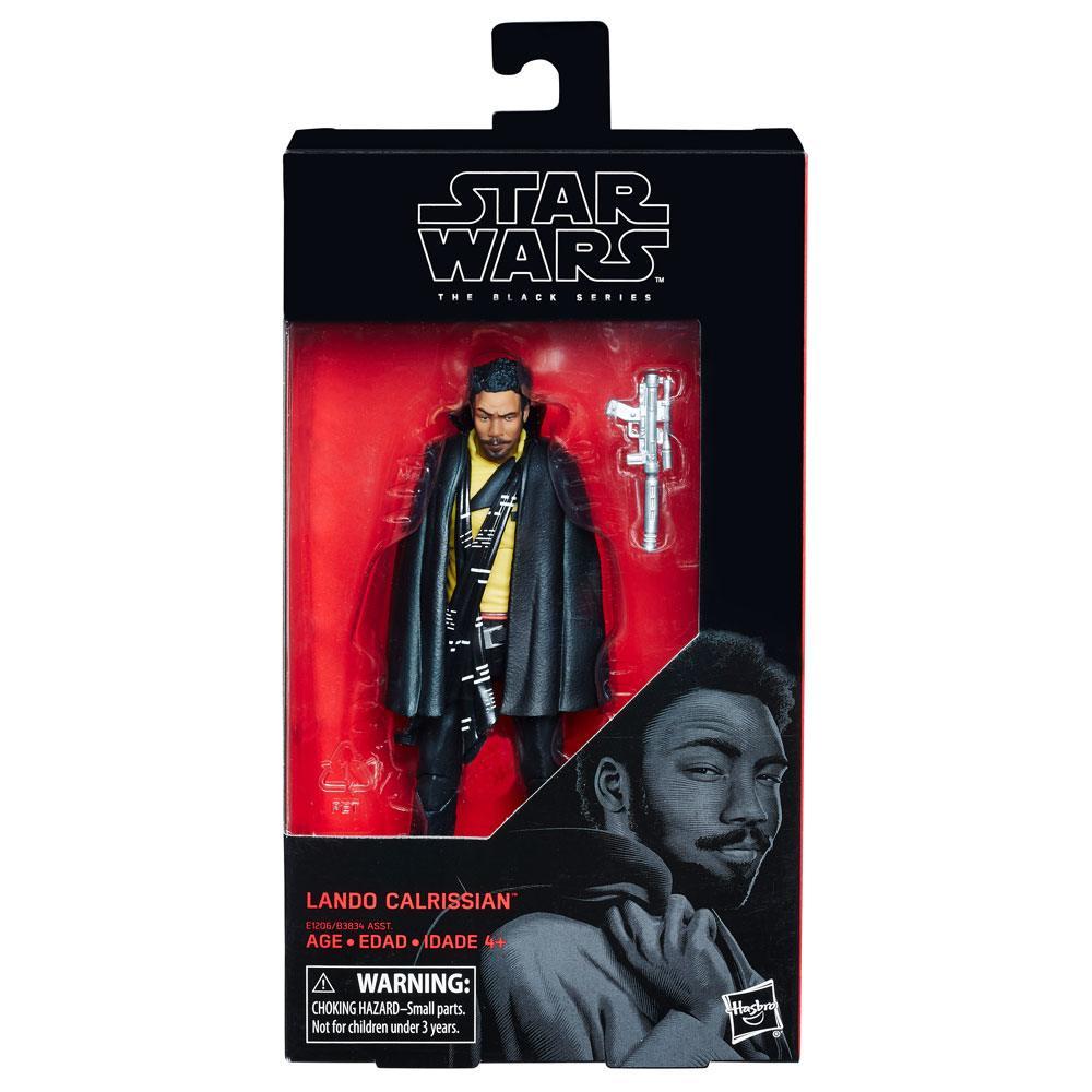 Star Wars Black Series Action Figures Wave 2 2018 Lando Calrissian 15 cm