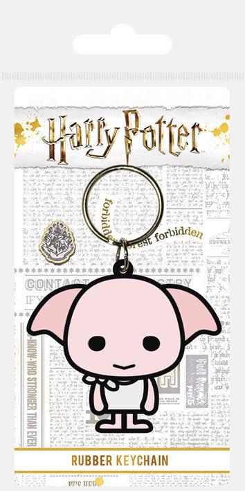 Porta-Chaves Harry Potter Rubber Chibi Dobby 6 cm