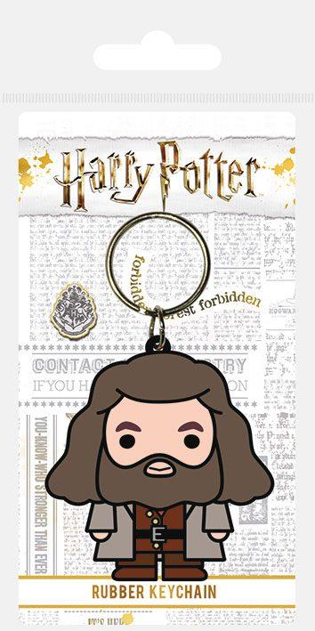 Porta-Chaves Harry Potter Rubber Chibi Hagrid 6 cm