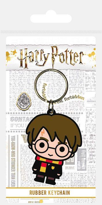 Porta-Chaves Harry Potter Rubber Chibi Harry 6 cm