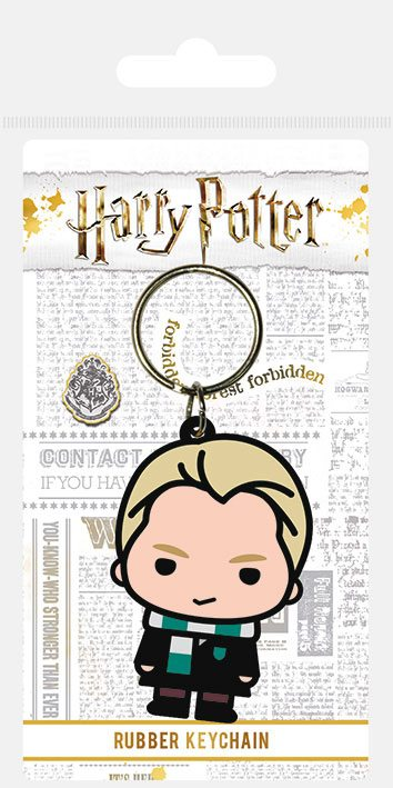 Porta-Chaves Harry Potter Rubber Chibi Malfoy 6 cm