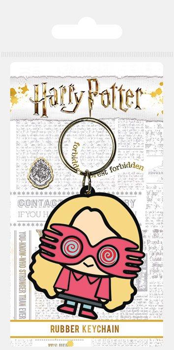 Porta-Chaves Harry Potter Rubber Chibi Luna 6 cm
