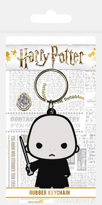 Porta-Chaves Harry Potter Rubber Chibi Voldemort 6 cm