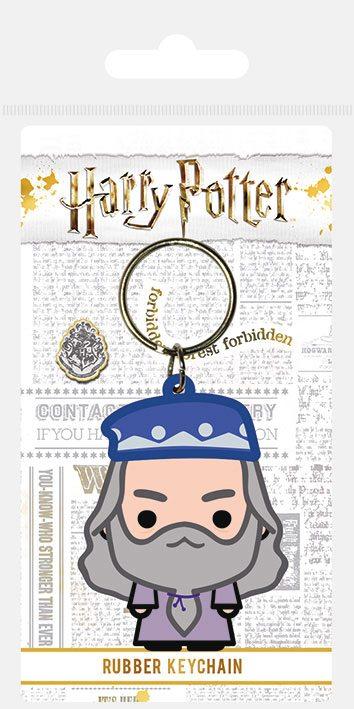 Porta-Chaves Harry Potter Rubber Chibi Dumbledore 6 cm