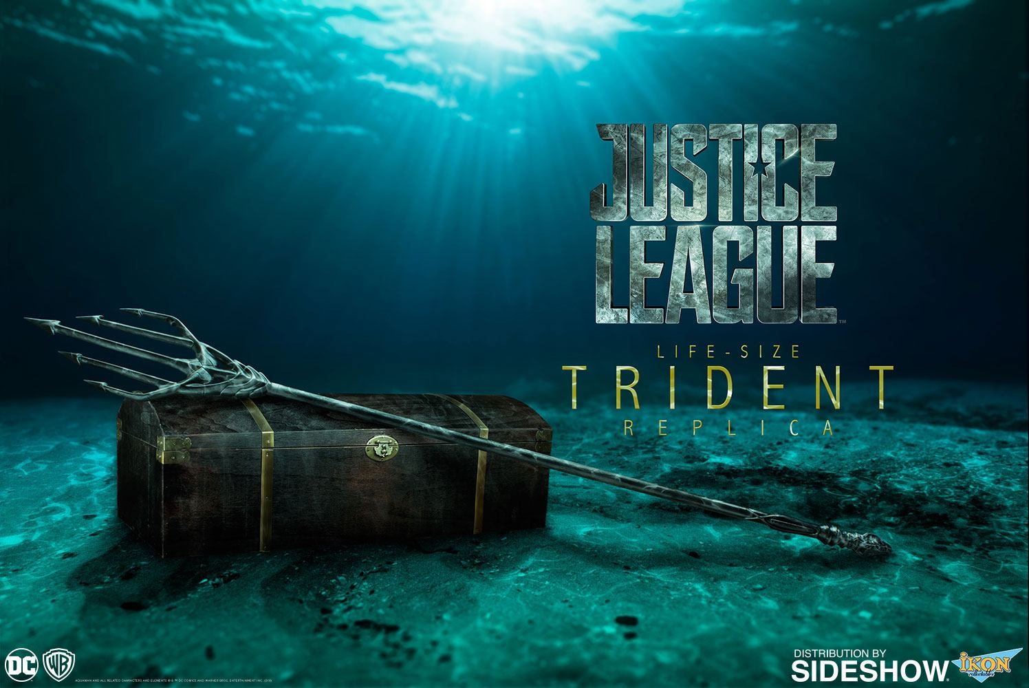 Justice League Replica 1/1 Aquaman's Trident 212 cm