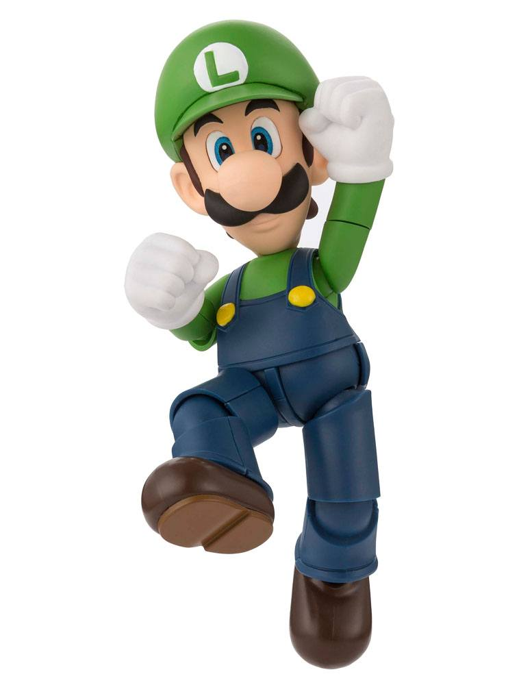 Super Mario Bros. S.H. Figuarts Action Figure Luigi 11 cm
