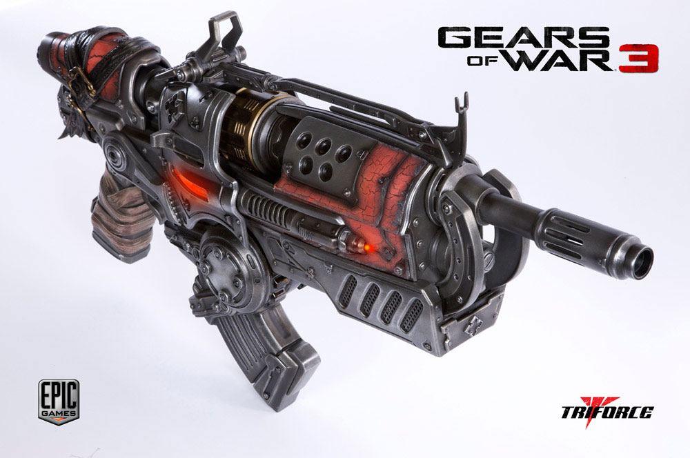 Gears of War 3 Replica 1/1 Locust Hammerburst II 89 cm