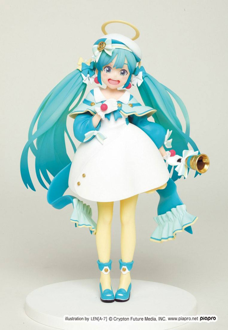 Vocaloid PVC Statue Hatsune Miku 2nd Season Winter Version Game-prize 18 cm