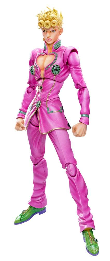 JoJo's Bizarre Adventure Super Action Action Figure Giorno Giovanna 16 cm