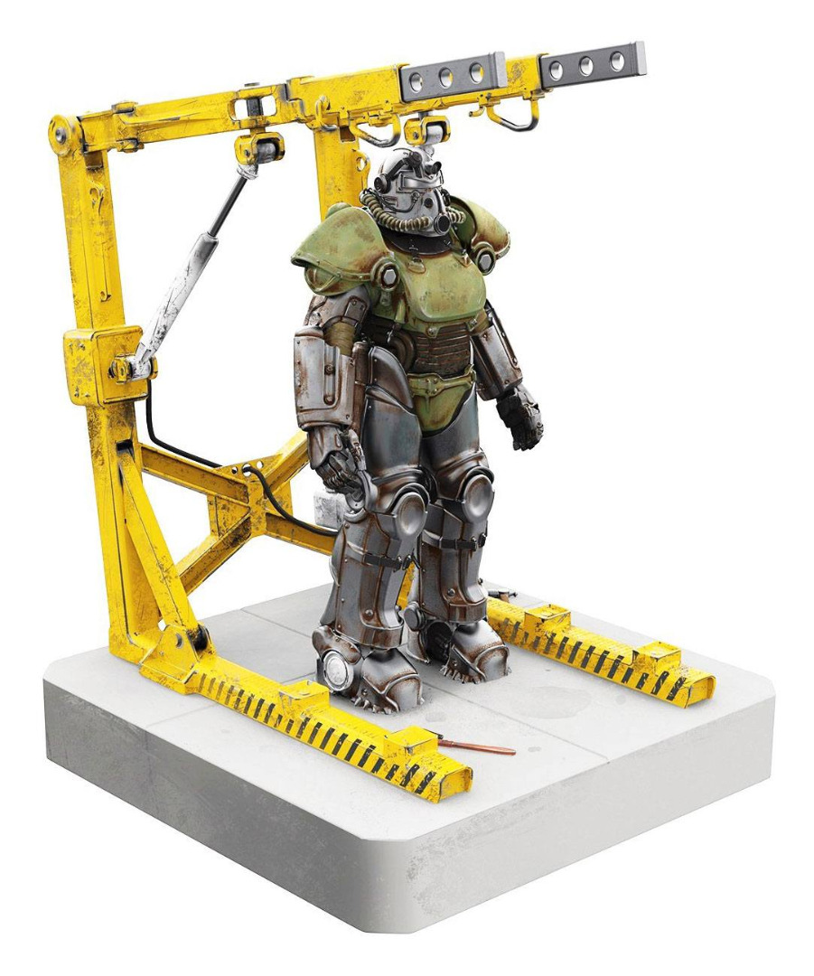 Fallout USB 4-Port Hub T-51 Power Armor 28 cm
