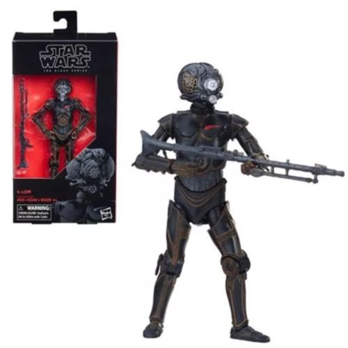 Star Wars Black Series 4 Action Figures 4-Lom 15 cm