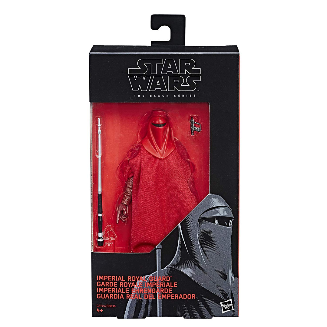 Star Wars Black Episode 6 Action Figures Imperial Royal Guard 15 cm