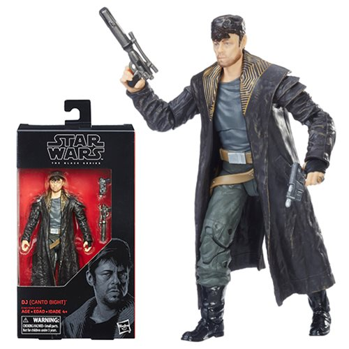 Star Wars Black Series Action Figures DJ (Canto Bight) 15 cm