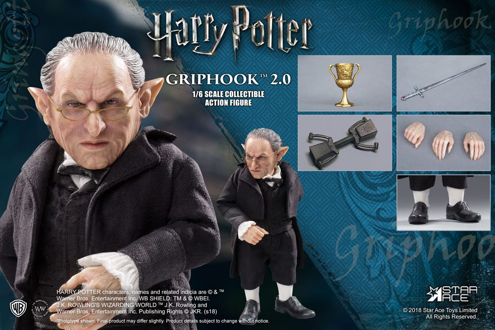 Harry Potter My Favourite Movie Action Figure 1/6 Griphook 2.0 Vers. 20 cm