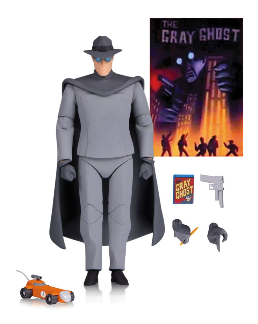 Batman The Animated Series Action Figure Gray Ghost 16 cm