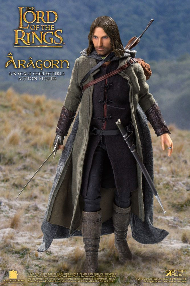 Lord of the Rings Real Master Series Action Figure 1/8 Aragon Deluxe Ver.