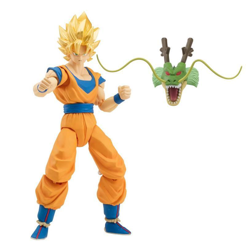 Dragonball Super Dragon Stars Action Figures Super Saiyan Goku 17 cm