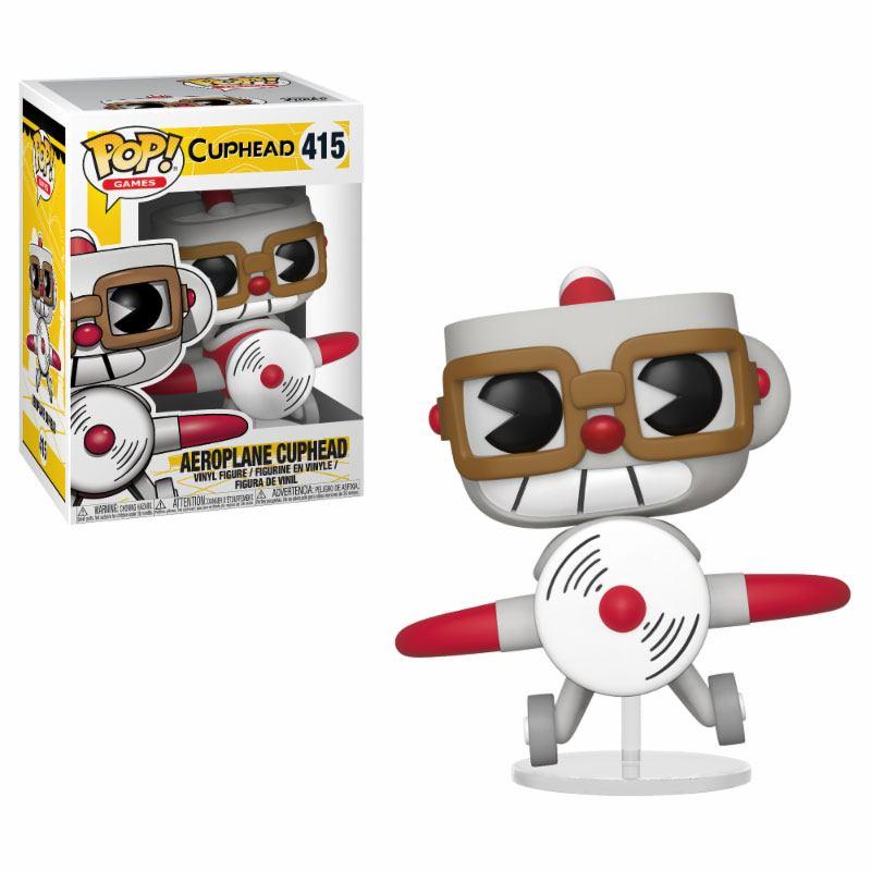 Pop! Games: Cuphead - Cuphead in Aeroplane Vinyl Figure 10 cm
