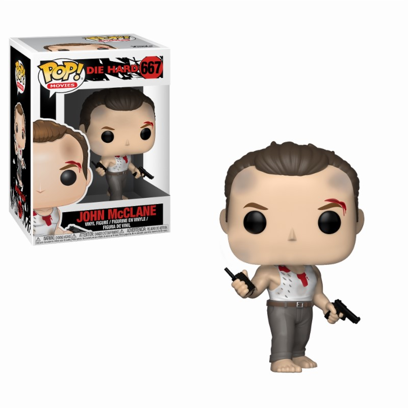 Pop! Movie: Die Hard - John McClane Vinyl Figure 10 cm