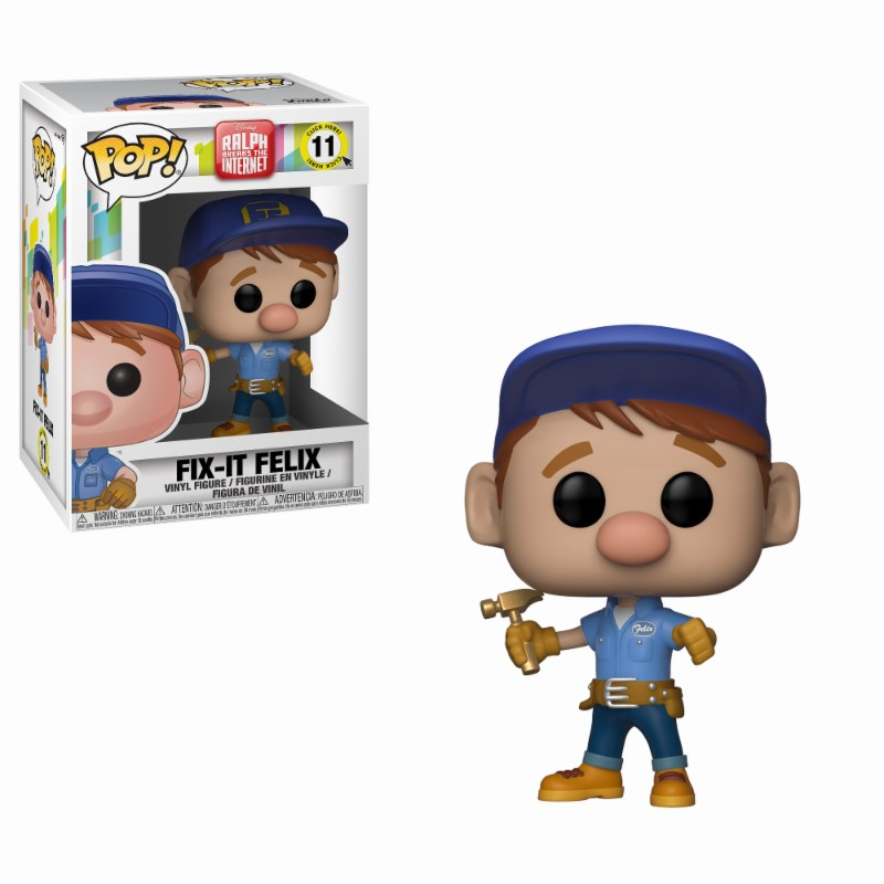 Pop! Disney: Wreck it Ralph 2 - Fix it Felix Vinyl Figure 10 cm