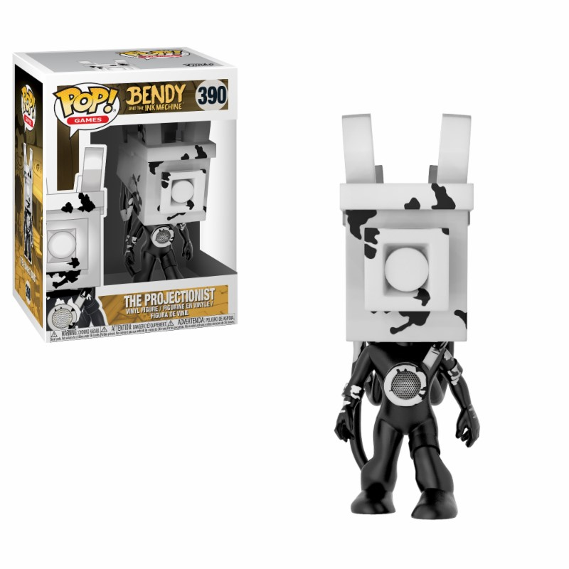 Pop! Games: Bendy and the Ink Machine The Projectionist Vinyl Figure 10 cm