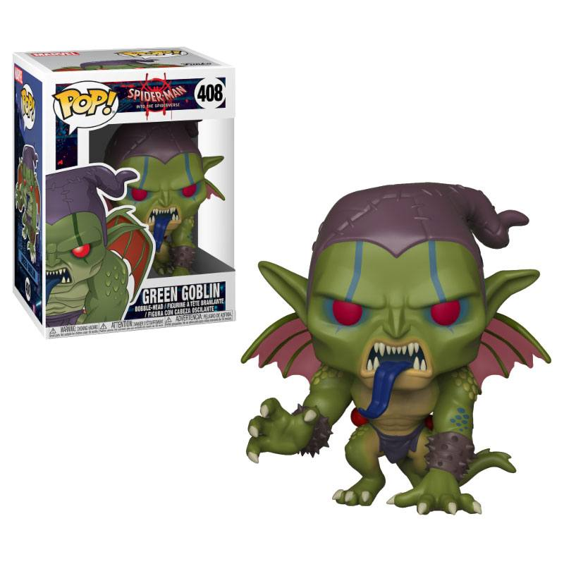 Pop! Marvel: Animated Spider-Man - Green Goblin Vinyl Figure 10 cm