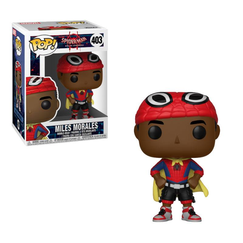 Pop! Marvel: Animated Spider-Man - Miles Morales Vinyl Figure 10 cm