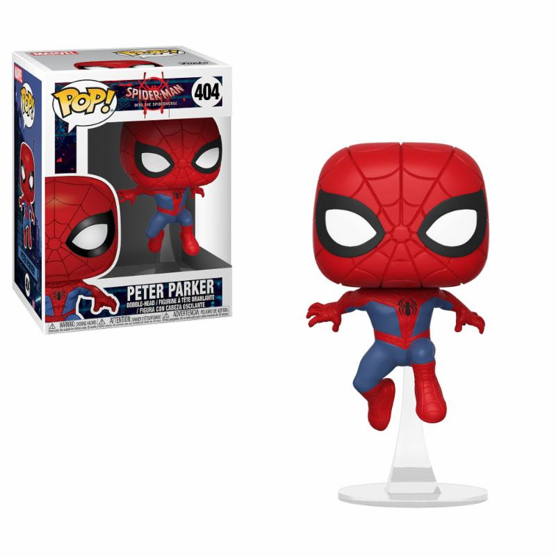 Pop! Marvel: Animated Spider-Man - Peter Parker Vinyl Figure 10 cm