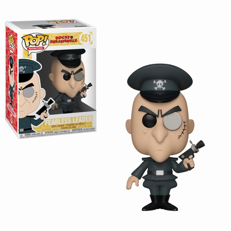 Pop! Cartoons: Rocky and Bullwinkle - Fearless Leader Vinyl Figure 10 cm