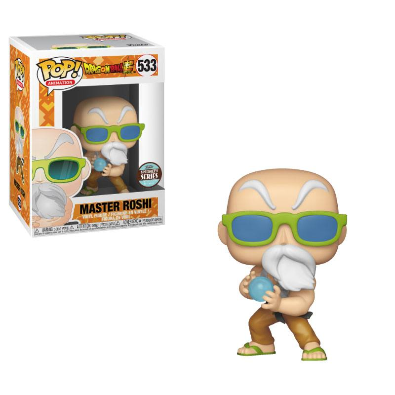 Dragonball Super POP! Animation Vinyl Figure Speciality Series Master Roshi