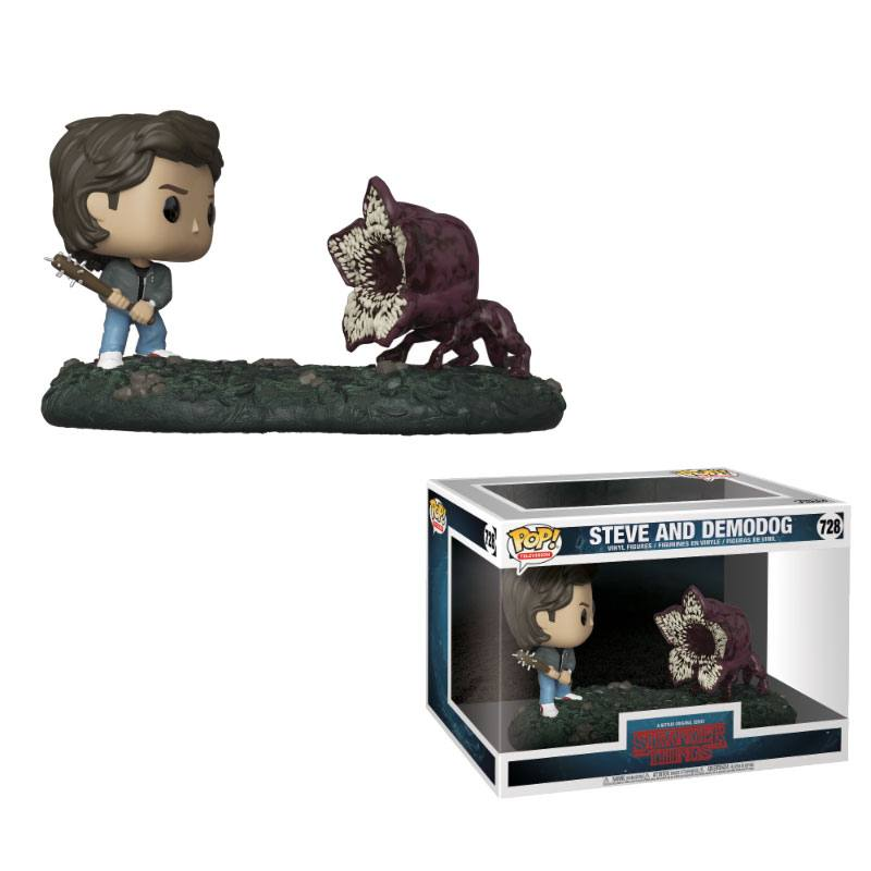Stranger Things POP! Movie Moments Vinyl Bobble-Head 2-Pack Steve & Demodog