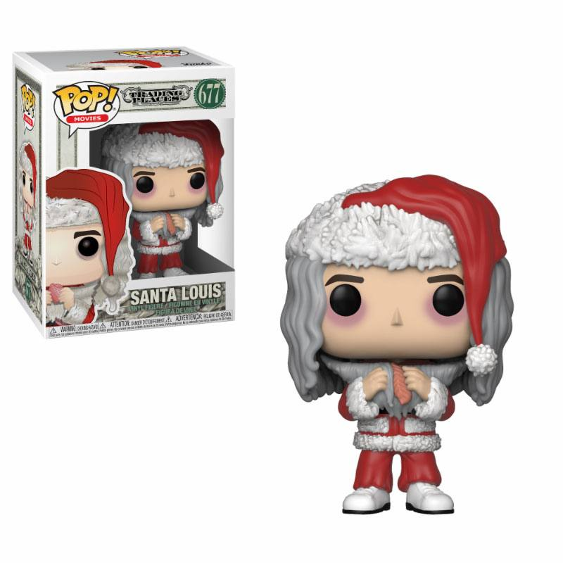 Pop! Movies: Trading Places - Santa Louis with Salmon Vinyl Figure 10 cm