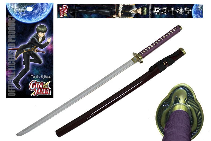 Gintama Foam Sword with Wooden Handle Toshiro Hijikata 99 cm