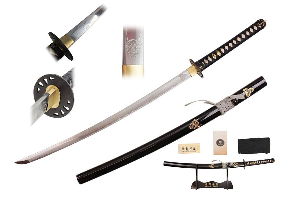 Hattori Hanzo Replica 1/1 Groom Katana Signature Edition 107 cm