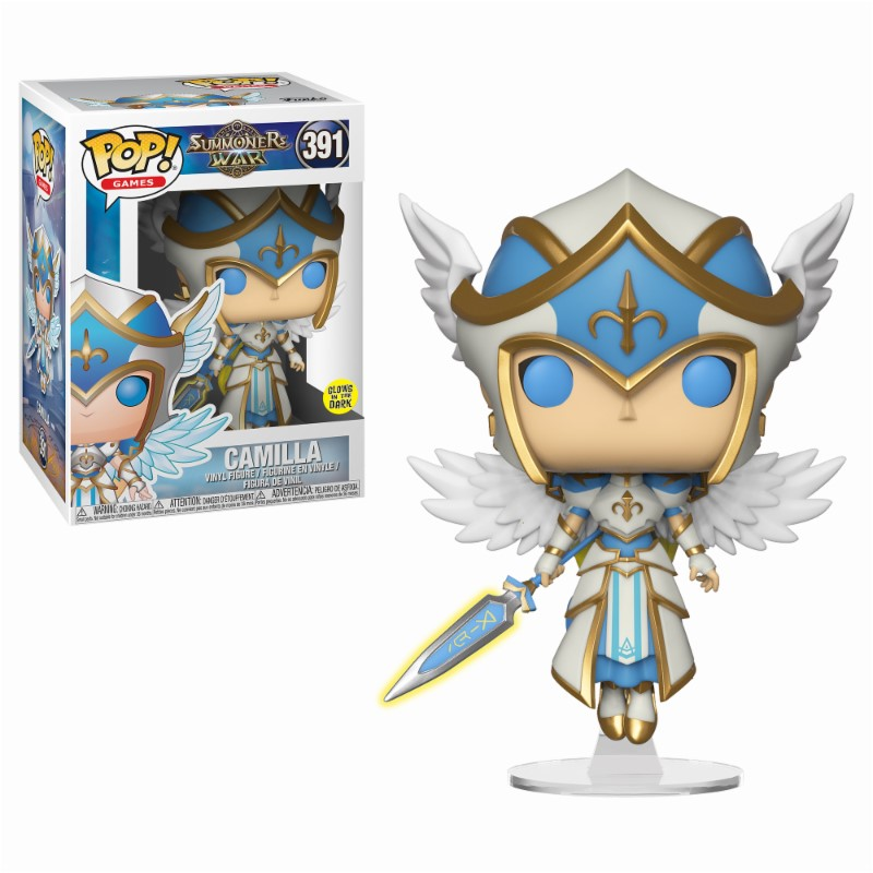Pop! Games: Summoners War - Camilla Vinyl Figure 10 cm
