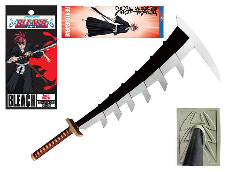 Bleach Foam Sword Renji Abarai Zabimaru (Retail Box Version) 102 cm