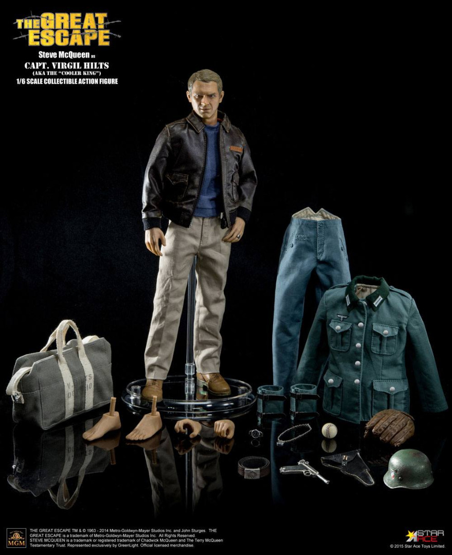 The Great Escape My Favourite Legend AF 1/6 Steve McQueen Special Edition