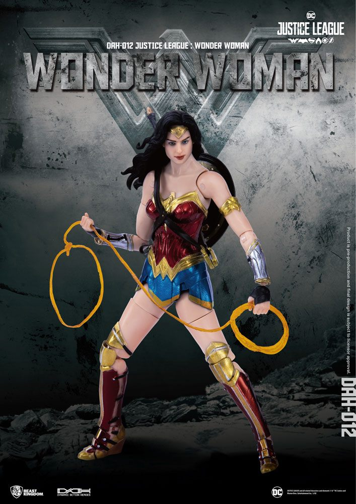 Justice League Dynamic 8ction Heroes Action Figure 1/9 Wonder Woman 19 cm