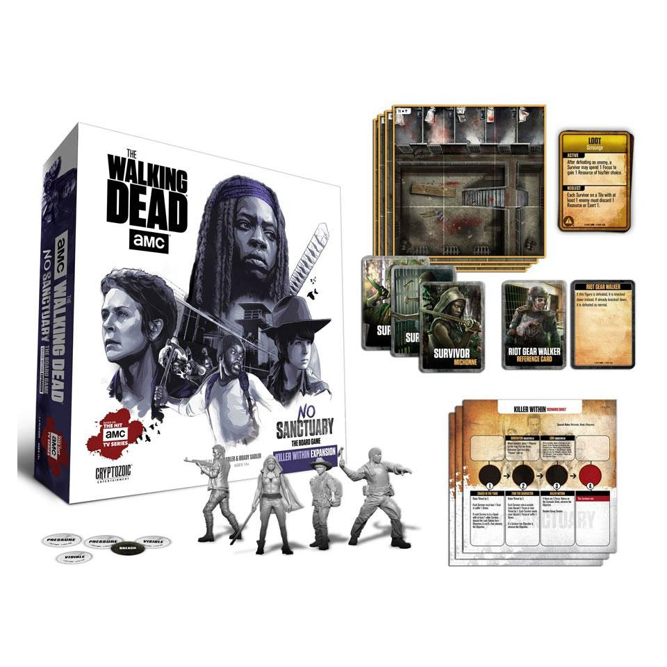 Walking Dead Board Game Expansion No Sanctuary: Killer Within English Vers.