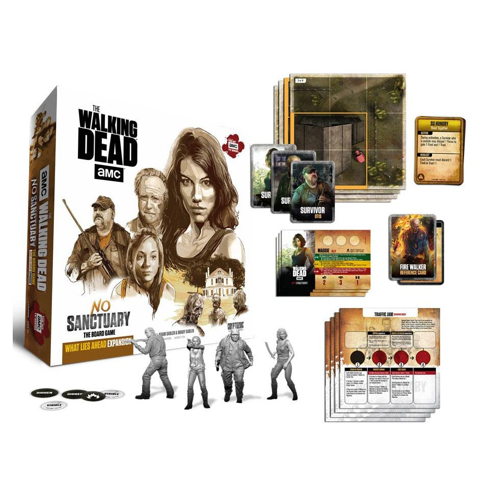 Walking Dead Board Game Expansion No Sanctuary: What Lies Ahead English Ver