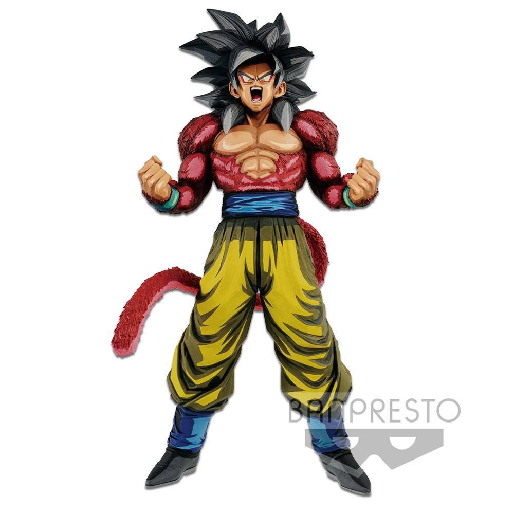 Dragonball GT Master Stars Piece PVC Statue Super Saiyan 4 Son Goku Manga