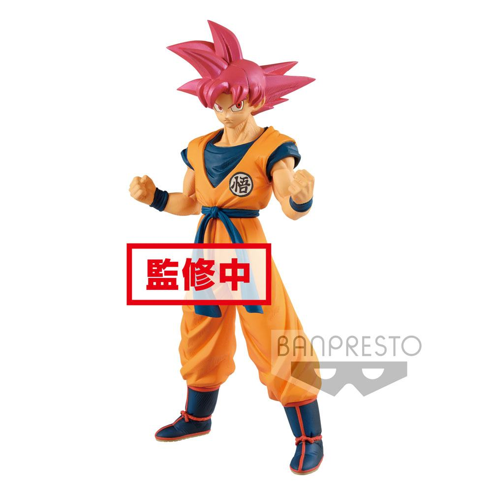 Dragonball Super Cyokuku Buyuden PVC Statue Super Saiyan God Son Goku 22 cm