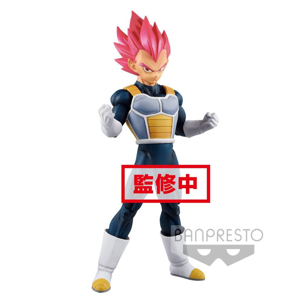 Dragonball Super Cyokuku Buyuden PVC Statue Super Saiyan God Vegeta 22 cm