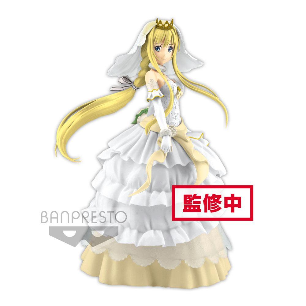 Sword Art Online Code Register EXQ PVC Statue Wedding Alice 21 cm