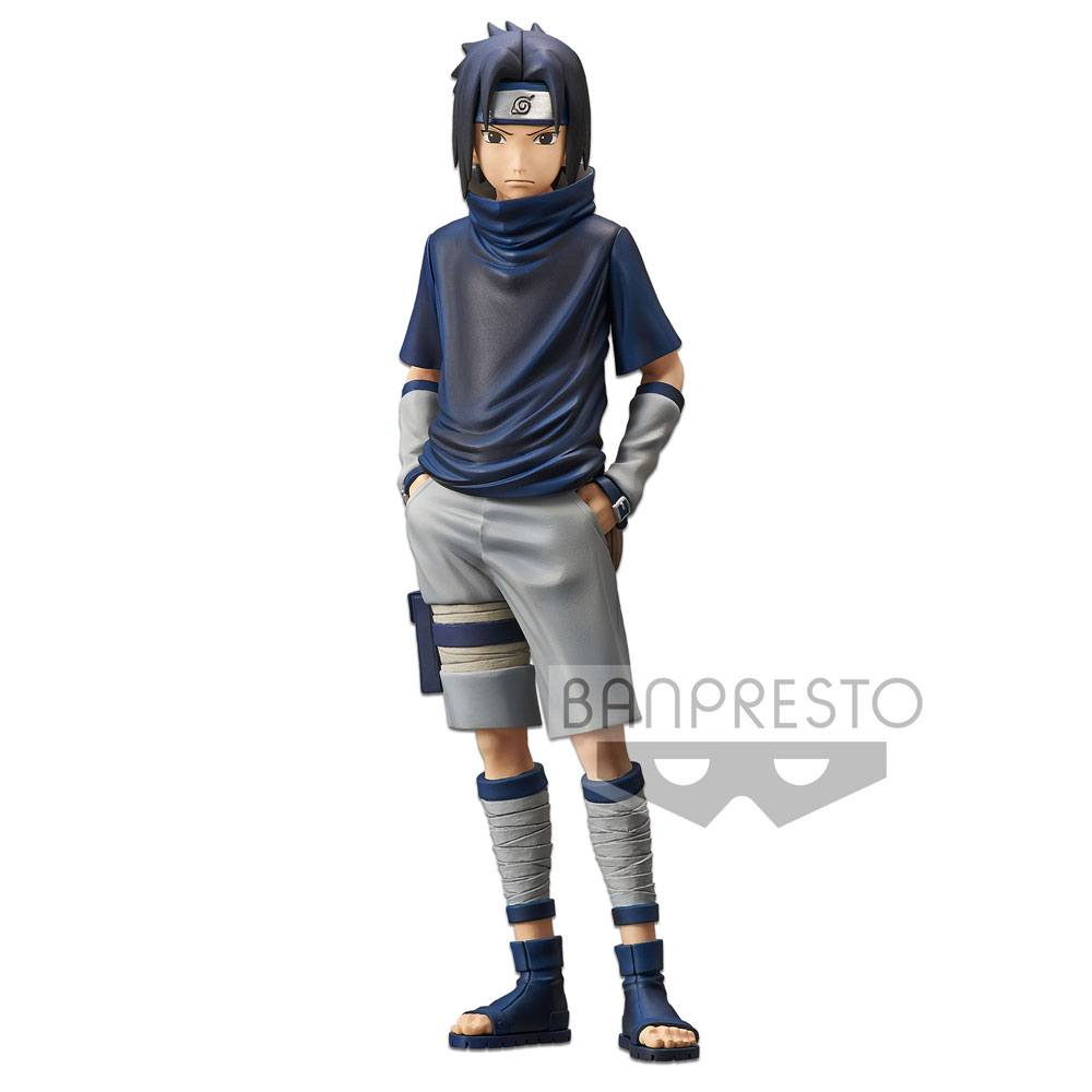 Naruto Shippuden Grandista Shinobi Relations Figure Uchiha Sasuke #2 24 cm