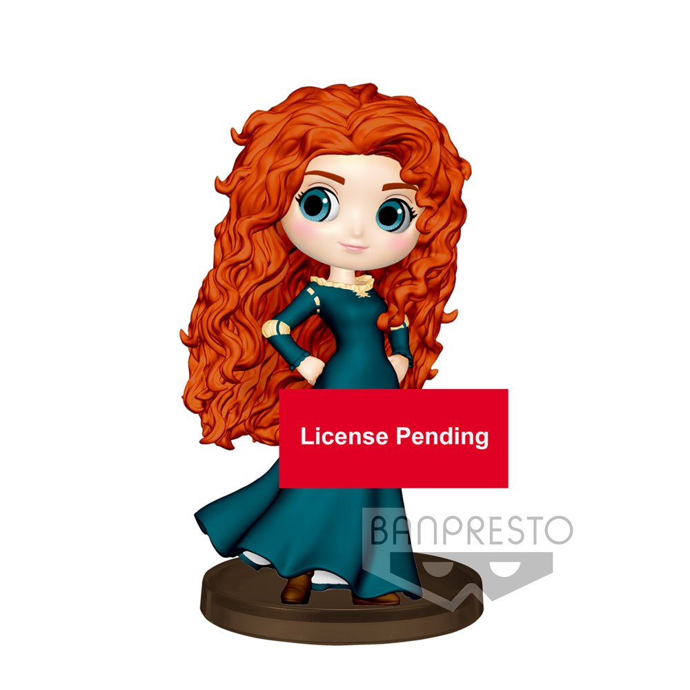 Disney Q Posket Petit Mini Figure Merida 7 cm
