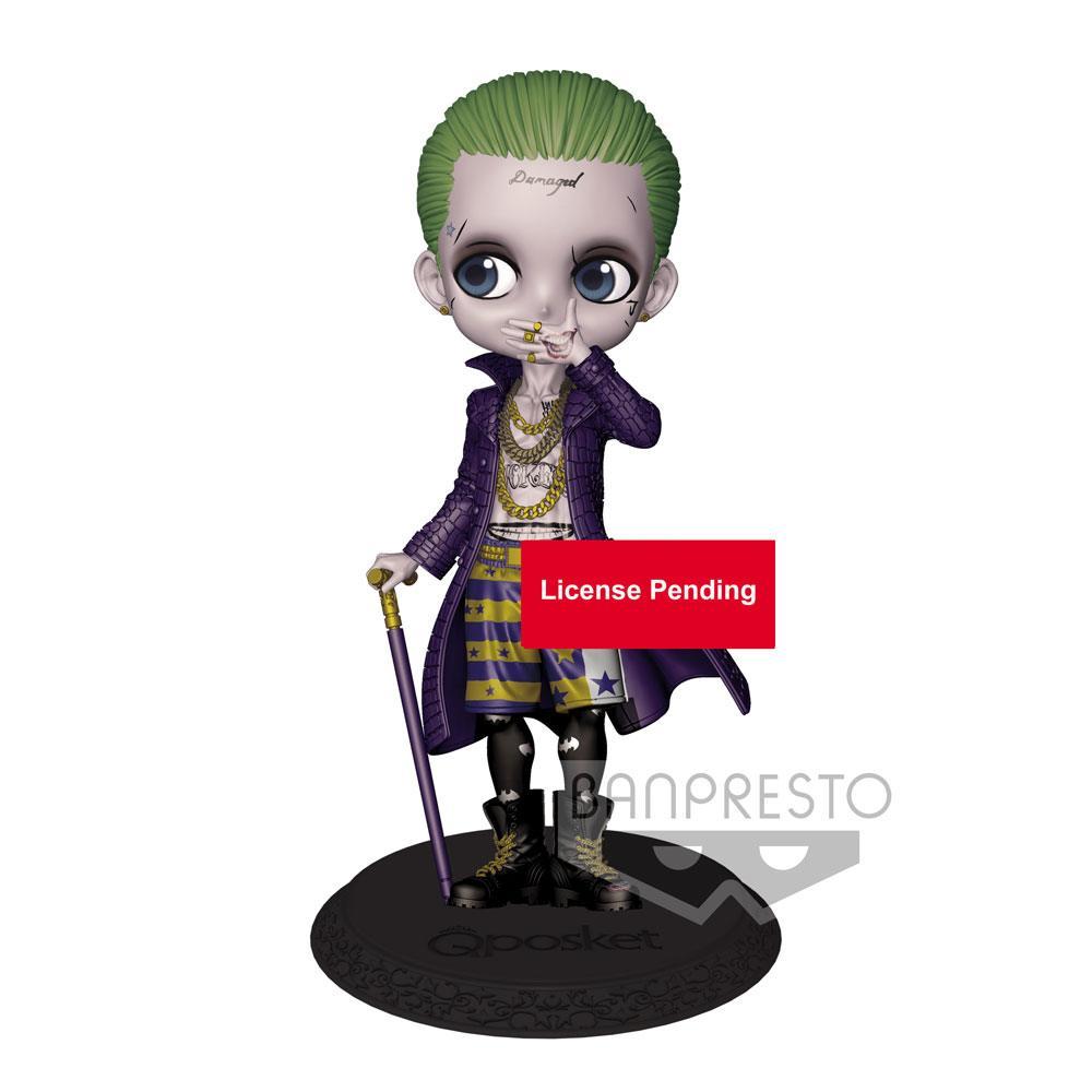Suicide Squad Q Posket Mini Figure Joker A Normal Color Version 14 cm