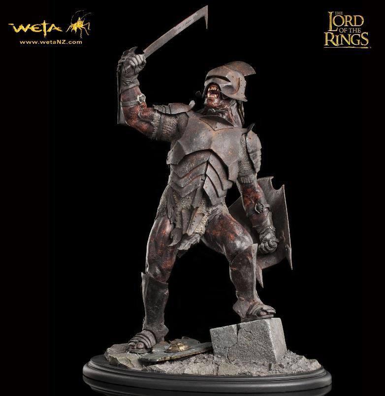 Lord of the Rings Statue 1/6 Uruk-Hai Swordsman 43 cm